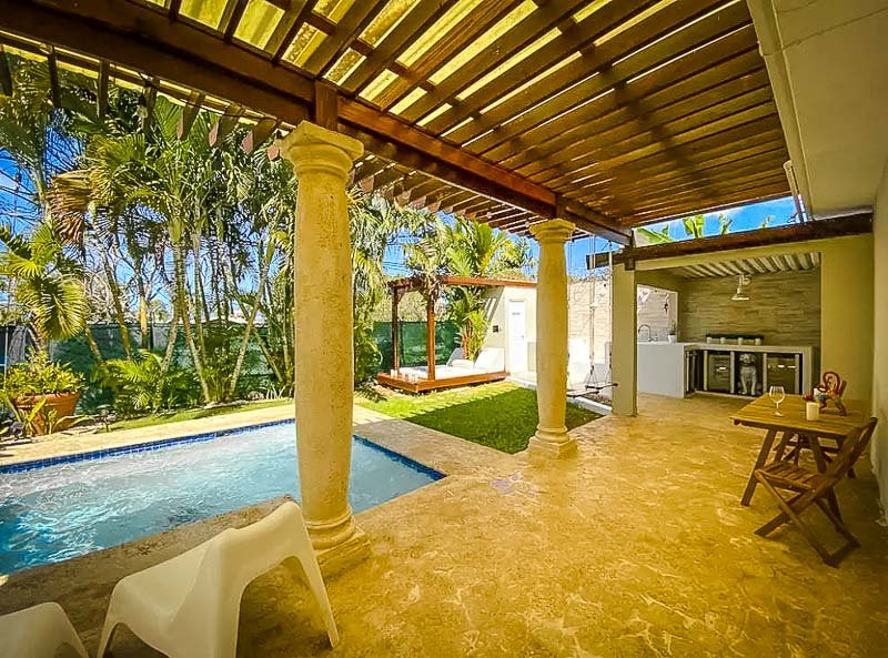 This vacation rental in PR offers the perfect spa getaway.