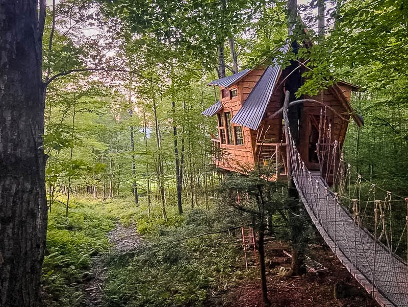 Treehouse at Bliss Ridge Farm