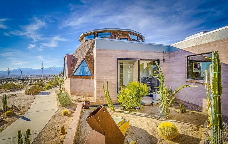 a geo dome accommodation brimming with beauty and rustic charm
