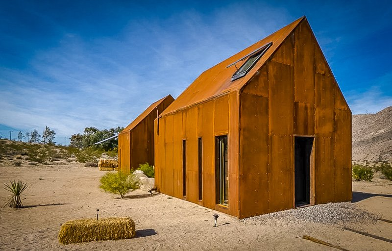 This Airbnb cabin in Southern California is perfect for stargazing.