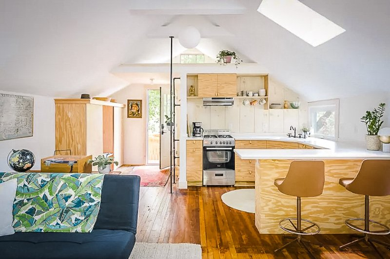 One of the most unique Airbnbs in Rhode Island.