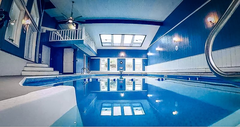 This New England Airbnb has an indoor pool - perfect for the winter