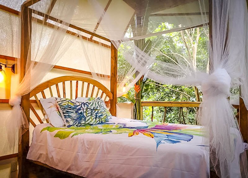 A cool treehouse in the rainforest that's among the top Puerto Rico rentals