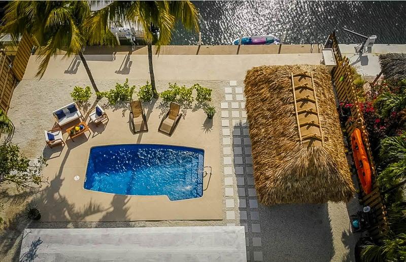 Vacation rental aerial views in Florida