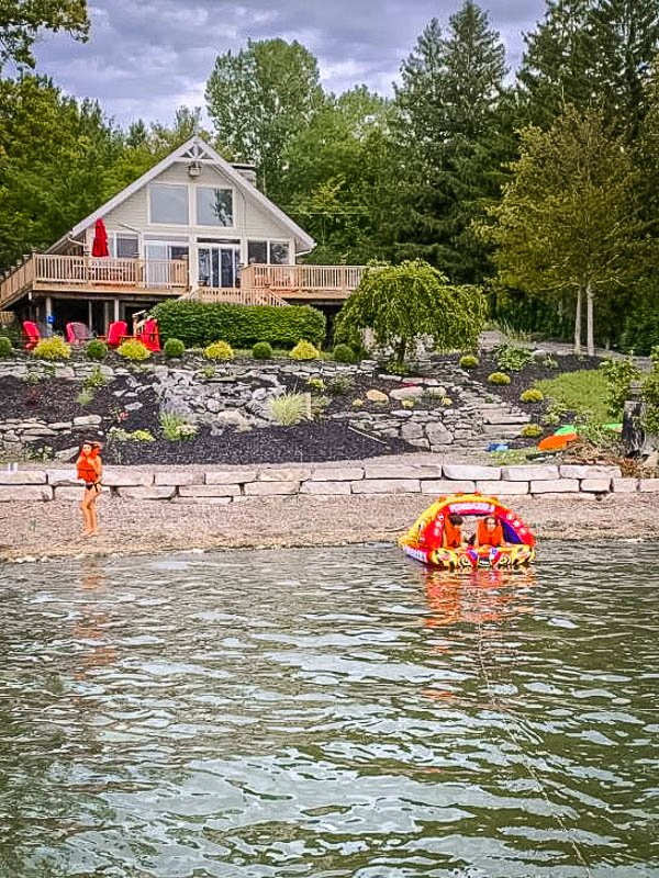 One of the best lake house Airbnbs in the Finger Lakes