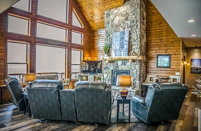 Lake house on Lake Superior