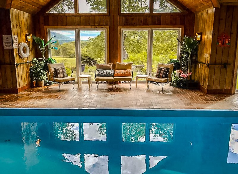 Pool house in Vermont.