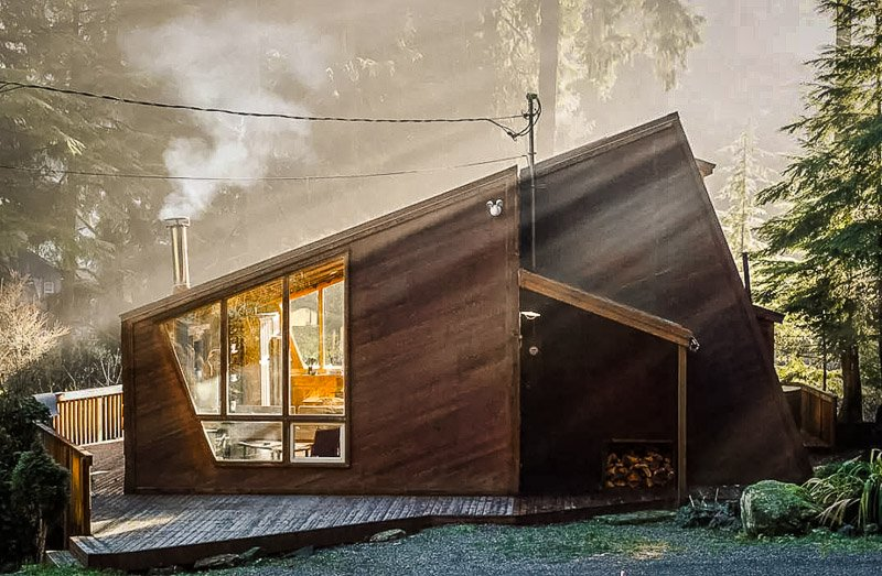 This cabin is one of the most unique Airbnb rentals in Washington State.