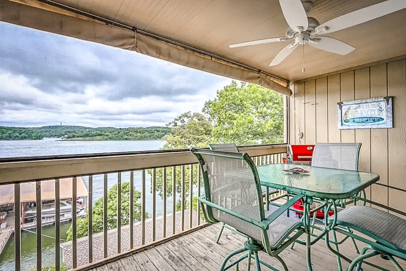 A unique condo with views of Lake of the Ozarks