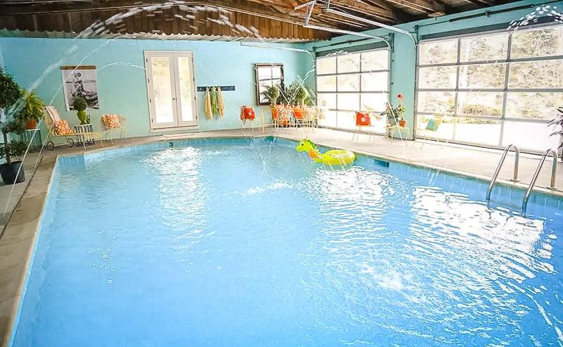 Top Airbnb with indoor pools.