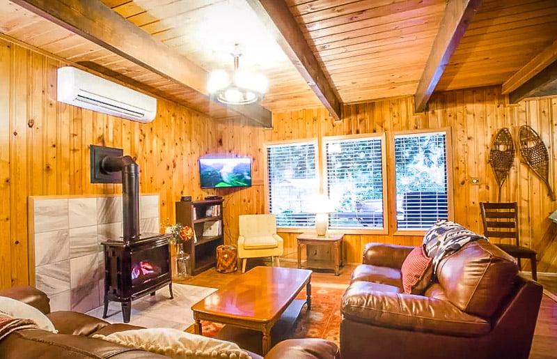 Beautiful living room seating area