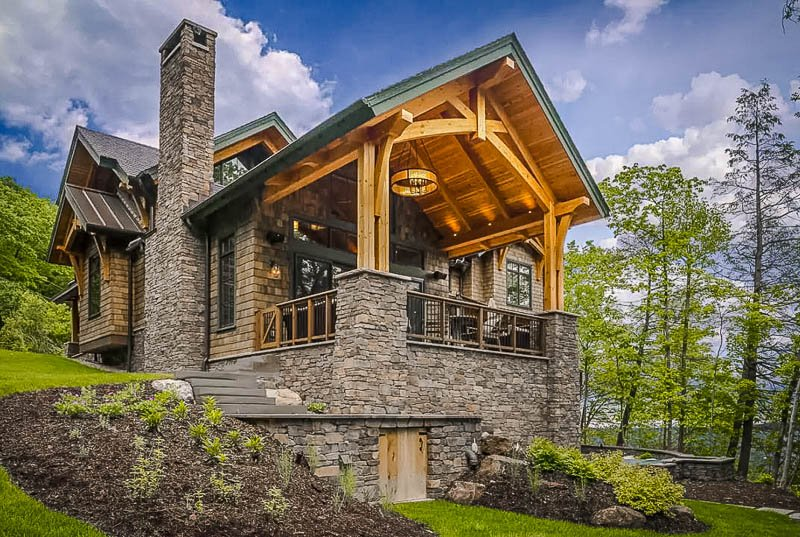 A lakefront chalet Airbnb in the Finger Lakes.