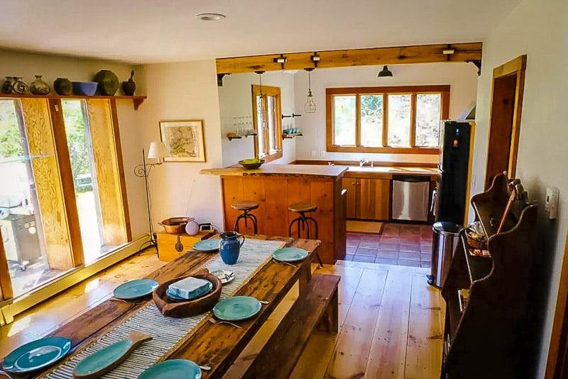 Rustic interior decoraton and furnishings