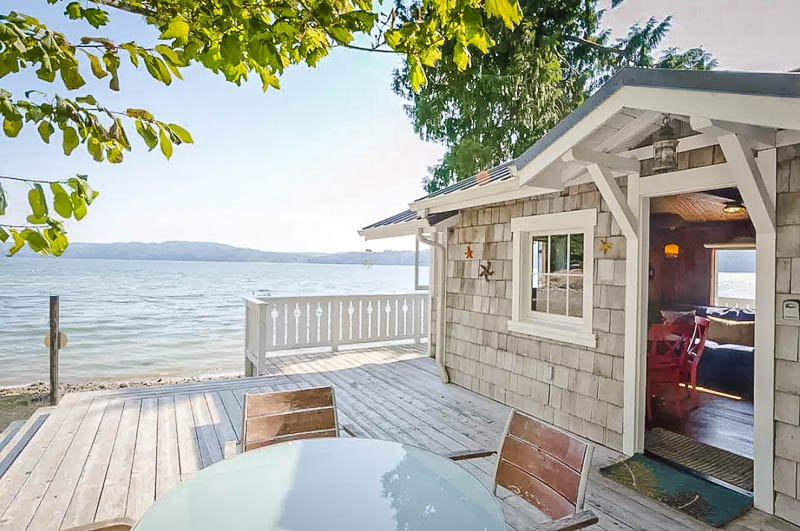 Beach house rental in Washington State