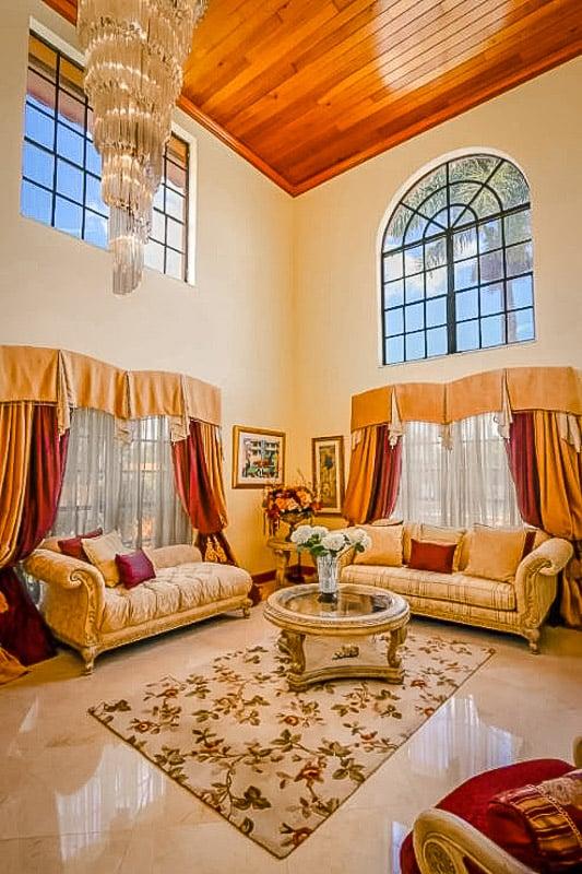 Elegant interior designs and furniture