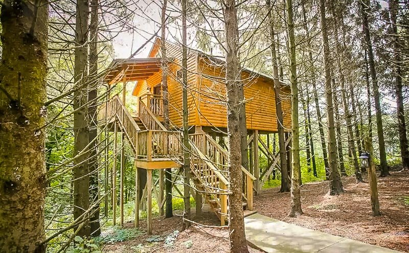 This Airbnb treehouse in Ohio is among the coolest in the country