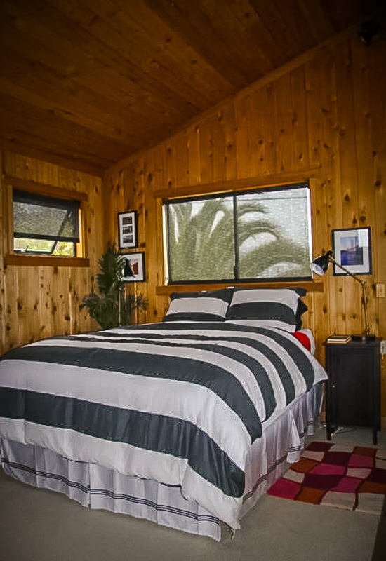 Rustic cabin interior furnishings