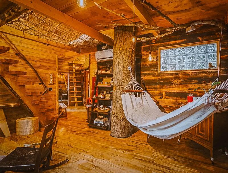 Top Treehouse rental Washington State