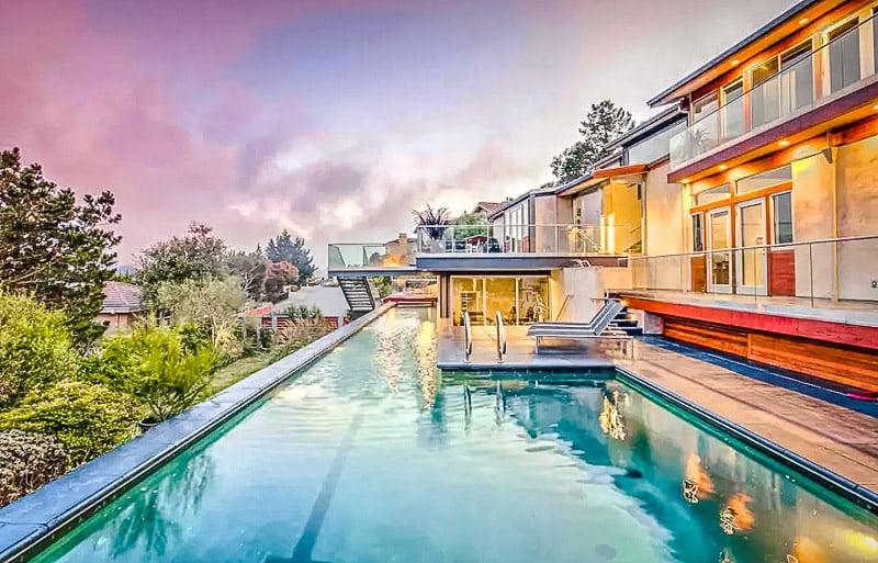 A modern vacation rental near Muir Woods, California