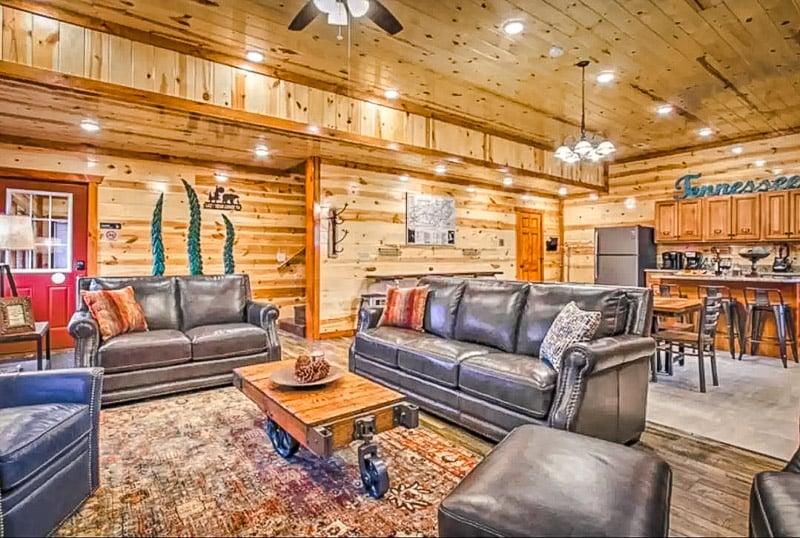 Elegant living space.