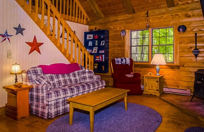 Rustic cabin architecture