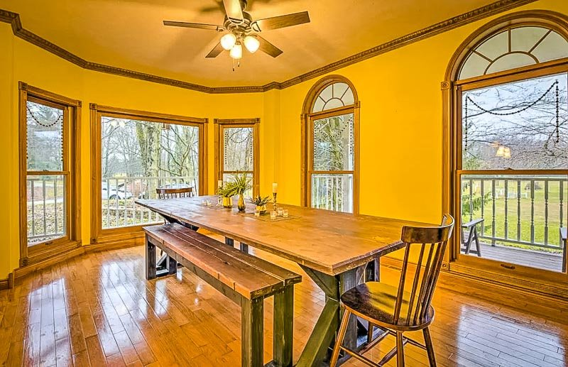 Midwestern charm inside this rental