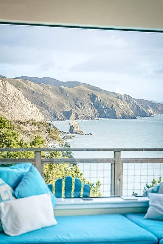 Beautiful views of the Pacific Coastline from this top notch vacation rental in Muir Woods