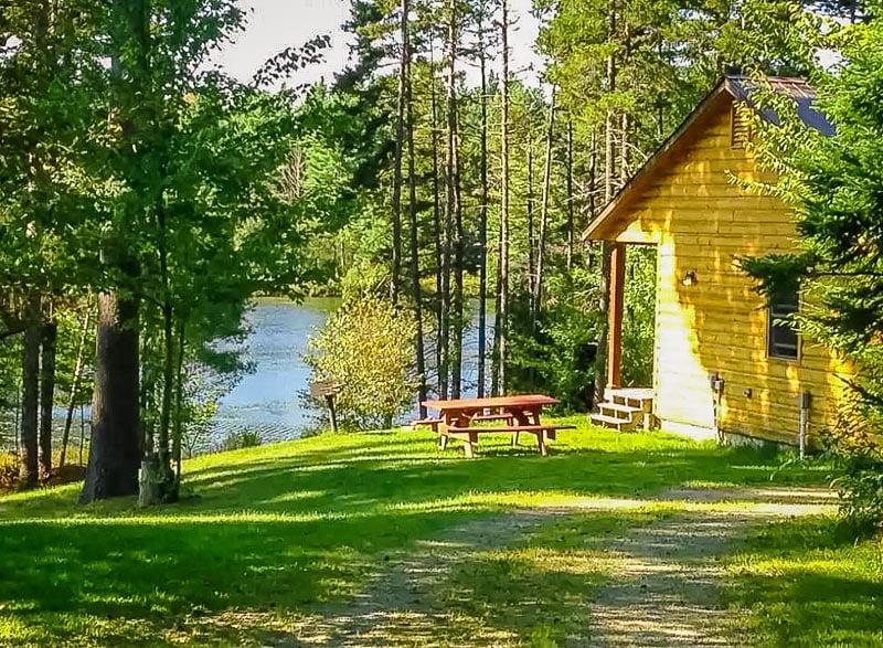 Cozy cabin near Smugglers Notch VT