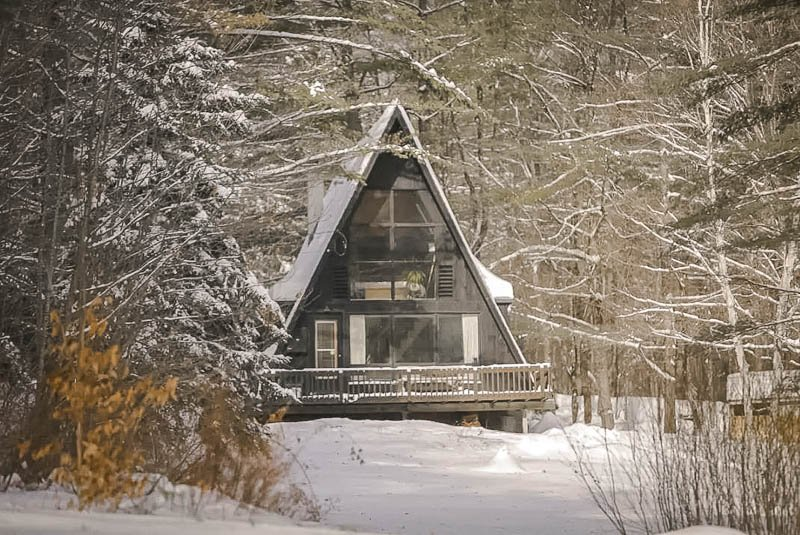 Cozy winter getaway in VT.
