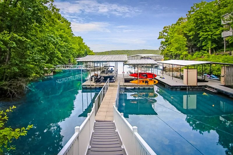 Stunning views of Lake of the Ozarks in Missouri