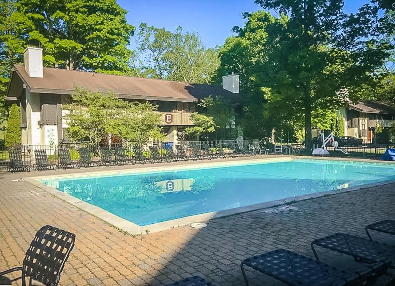 Beautiful heated pool for the summer