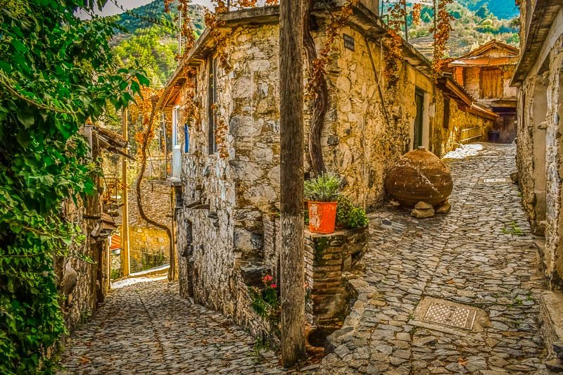 This stone village in Cyprus looks like it could belong on three different continents.