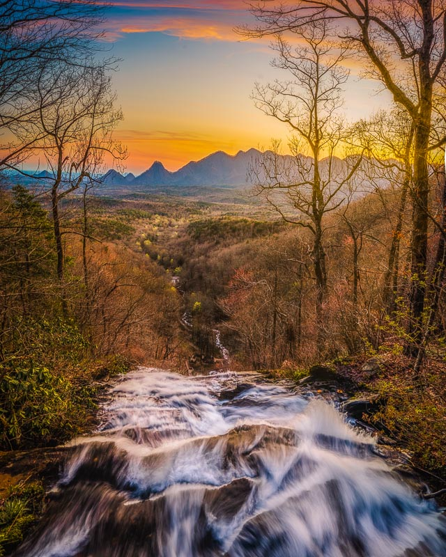 Amicalola Falls is easily among the best places to visit in Georgia.