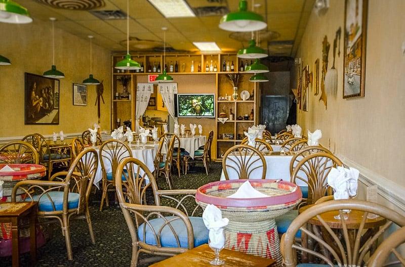 Asmara in Cambridge, MA is one of the best restaurants in Boston
