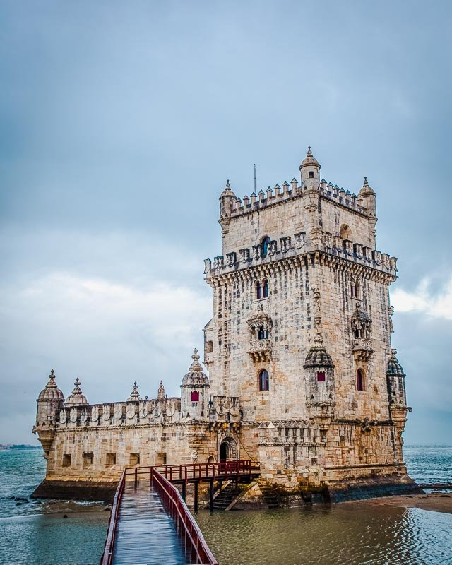 Belém Tower is one of the coolest fortresses in Europe.