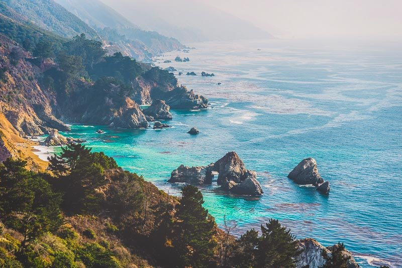 The Big Sur is one of the most scenic stretches of coastline imaginable