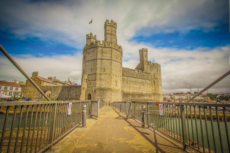 Caernarfon Castle is among the best North Wales Instagram spots.