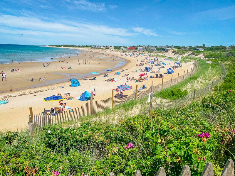Cape Cod is a top New England beach destination in the summer.