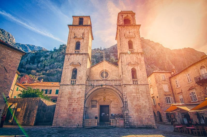 The Cathedral of Saint Tryphon is one of the top sights in Kotor.