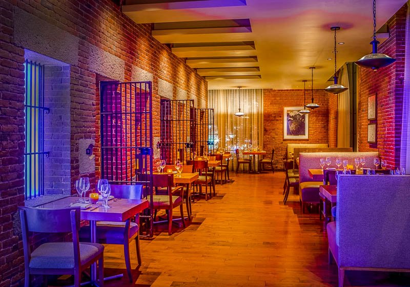 CLINK's prison theme makes it one of the most unique restaurants in Boston.