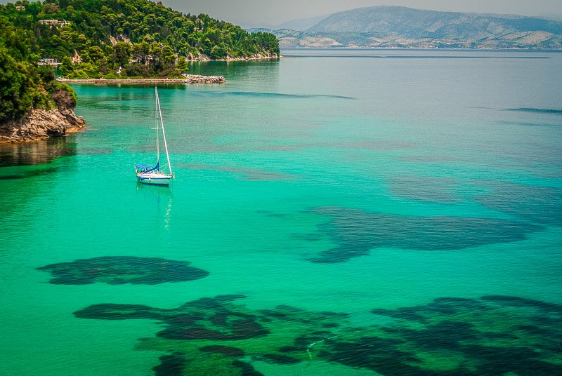 Corfu, Greece is one of the most beautiful islands in the world
