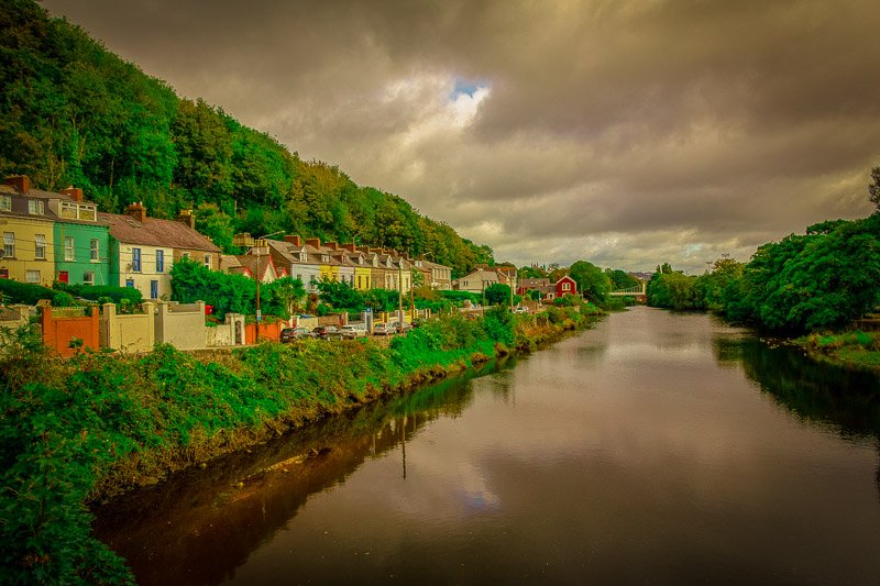 Cork, Ireland is a cheap place to fly to from many cities in the US.