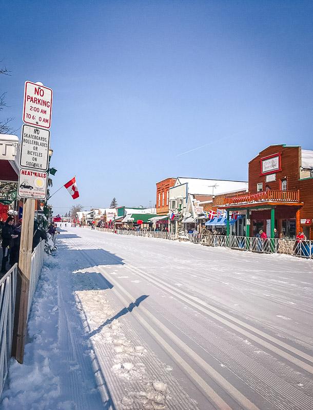 Main Street in Hayward, WI