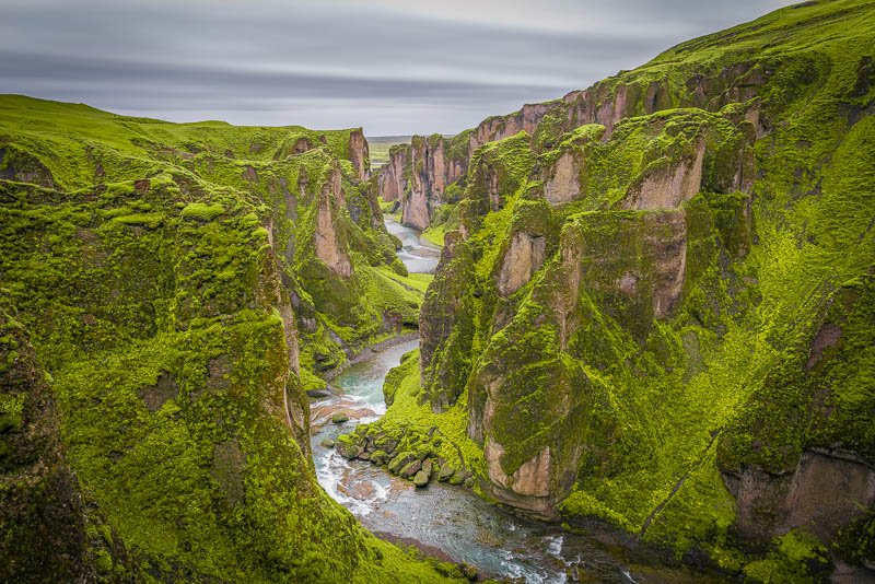 Epic canyon in Iceland
