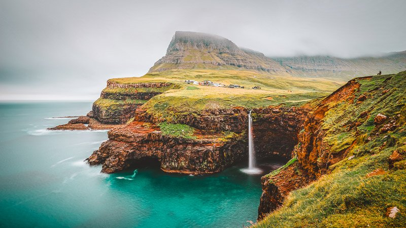 The Faroe Islands is one of the most epic islands in the world.