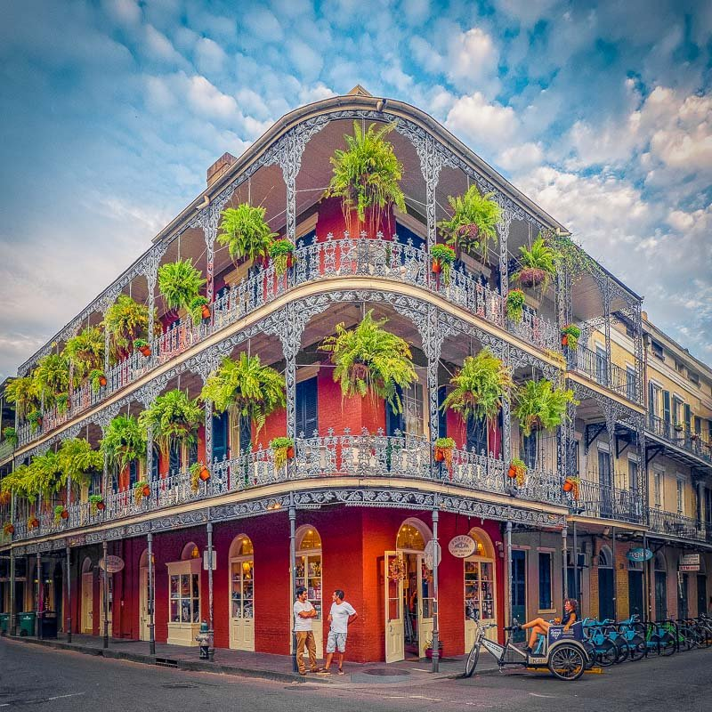 The French Quarter in New Orleans is among the best places to travel with friends in 2021