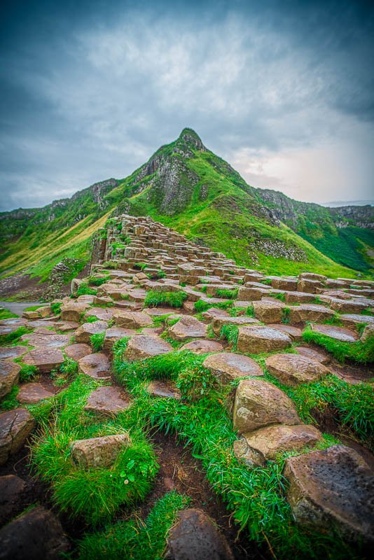 Giant's Causeway is one of the best Instagram spots in Northern Ireland, UK.