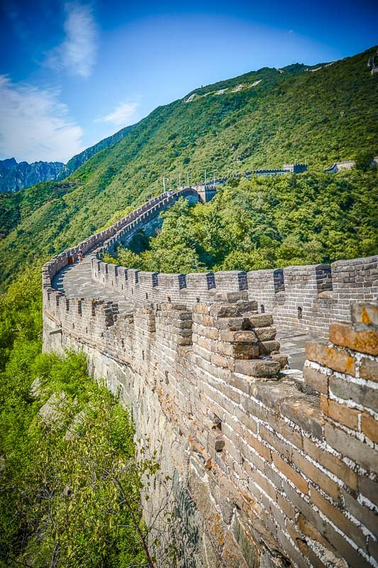 Take a walk along the Great Wall of China, the longest wall in the world
