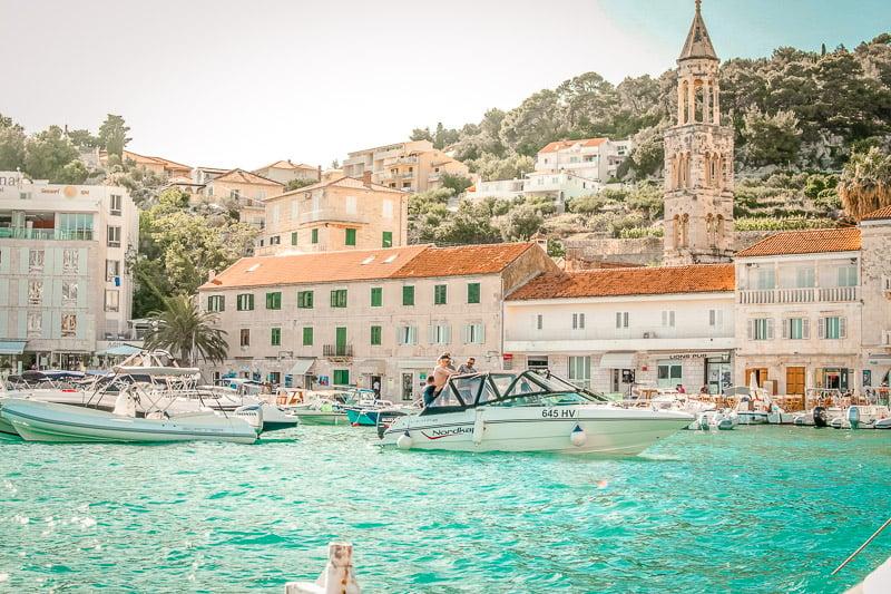 Hvar, Croatia is a part of the Dalmatian Islands.