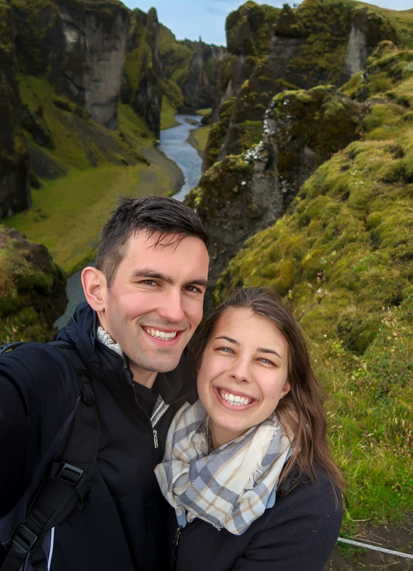 Traveling as a couple in Iceland